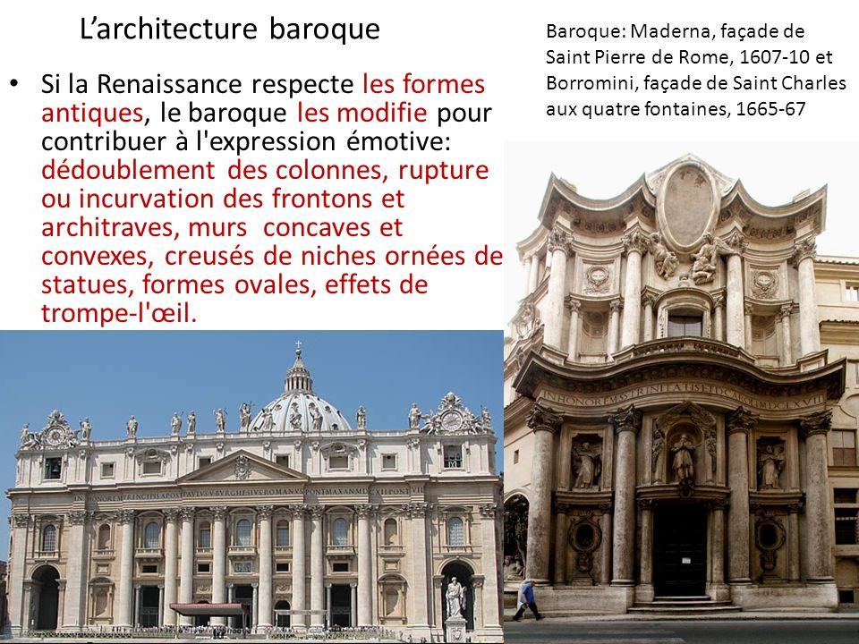 Le baroque en italie sculpture le bernin ppt video for L architecture baroque