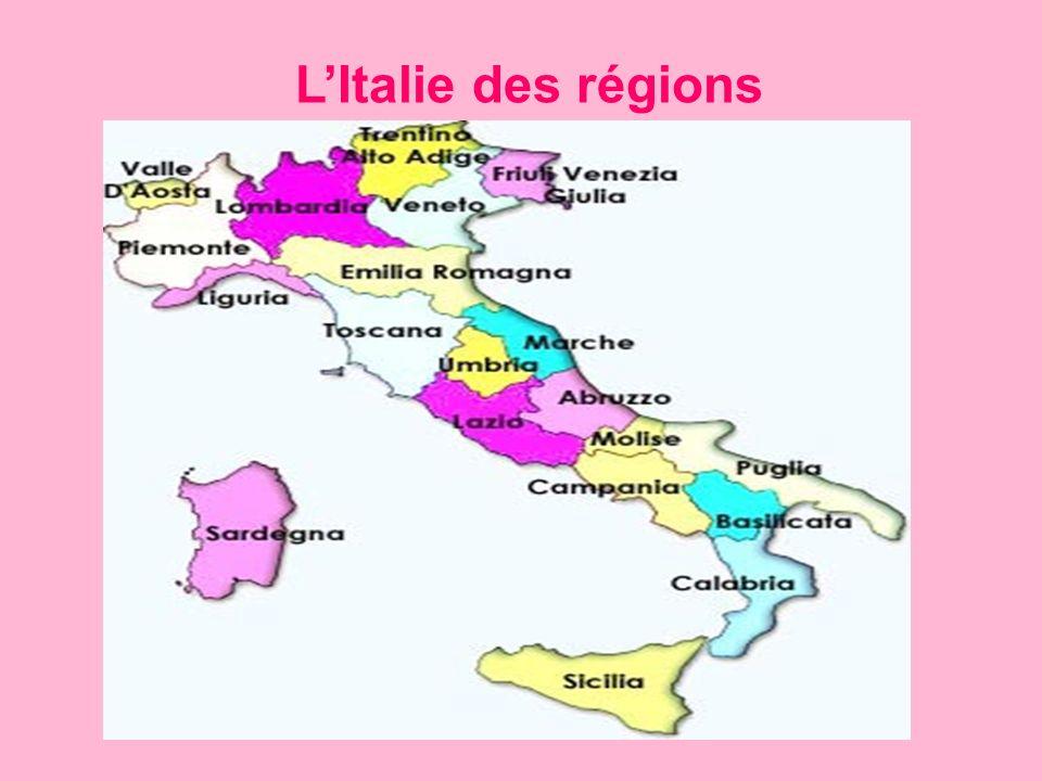 L'Italie des régions