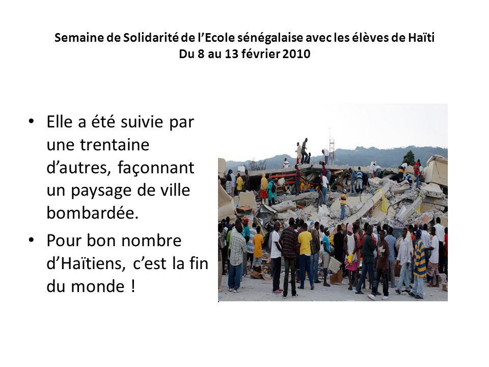 Pour bon nombre d'Haïtiens, c'est la fin du monde !