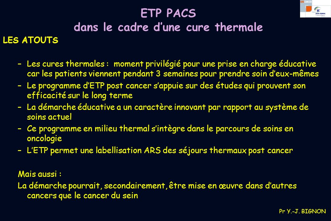 programme pacs etp post cancer du sein ppt t l charger. Black Bedroom Furniture Sets. Home Design Ideas