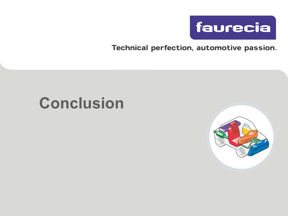 Faurecia meru pankaj meshram linkedin method for for Faurecia interieur industrie