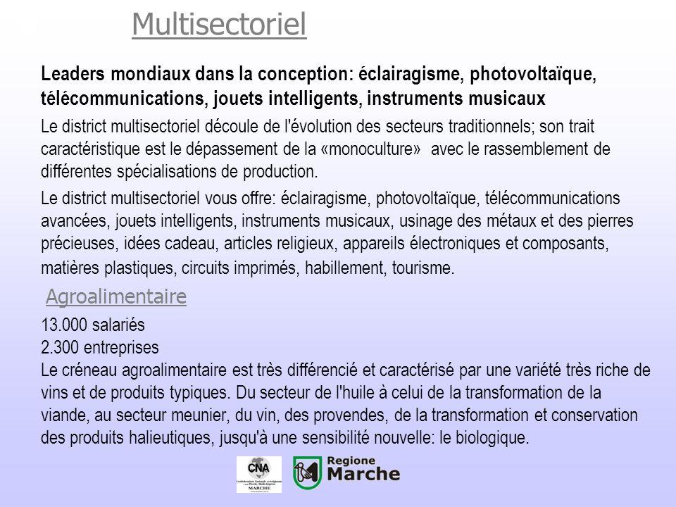 Multisectoriel.