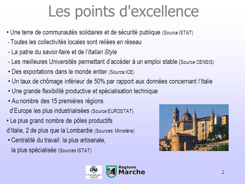 Les points d excellence