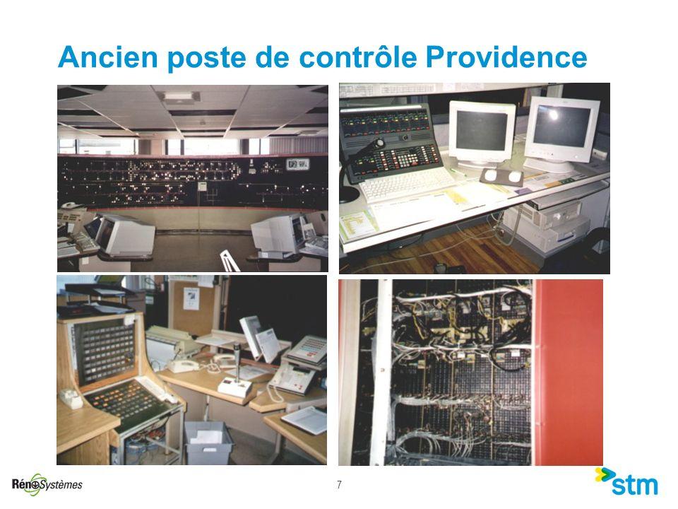 Ancien poste de contrôle Providence