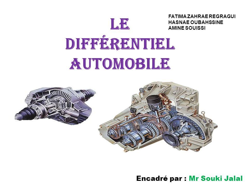 Le différentiel automobile