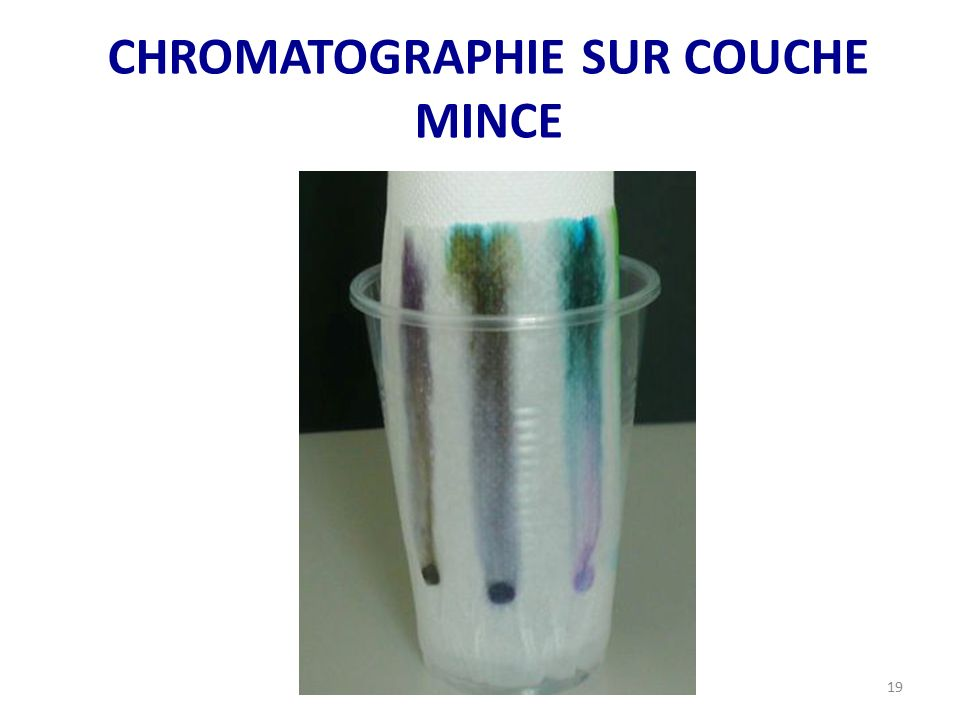 Double nature de la lumi re ppt video online t l charger - Chromatographie sur couche mince definition ...