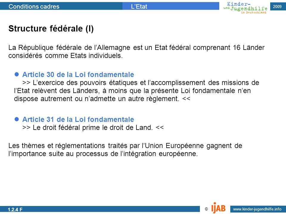 Structure fédérale (I)