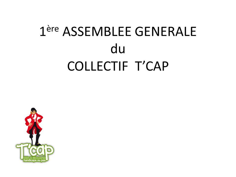 1ère ASSEMBLEE GENERALE du COLLECTIF T'CAP