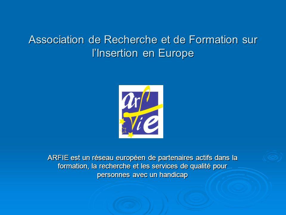 Association de Recherche et de Formation sur l'Insertion en Europe