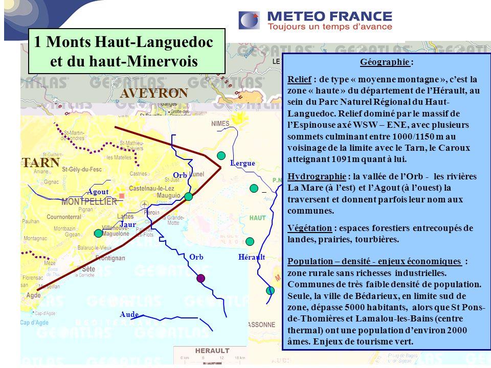 Connaissance des territoires centre m t orologique de for Espaces verts du languedoc