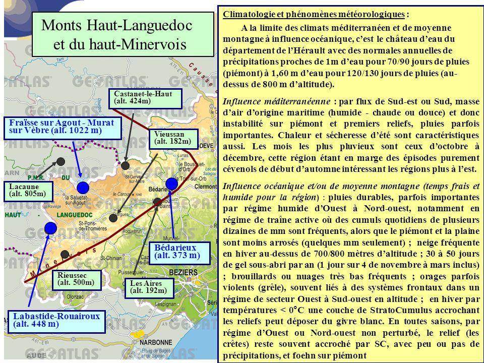 Monts Haut-Languedoc et du haut-Minervois