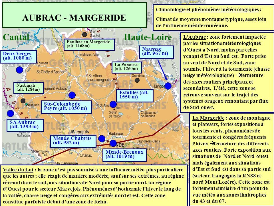 AUBRAC - MARGERIDE Cantal Haute-Loire