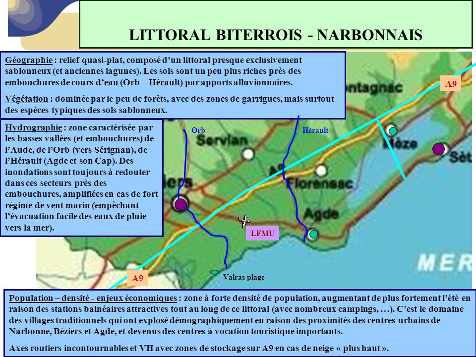 LITTORAL BITERROIS - NARBONNAIS
