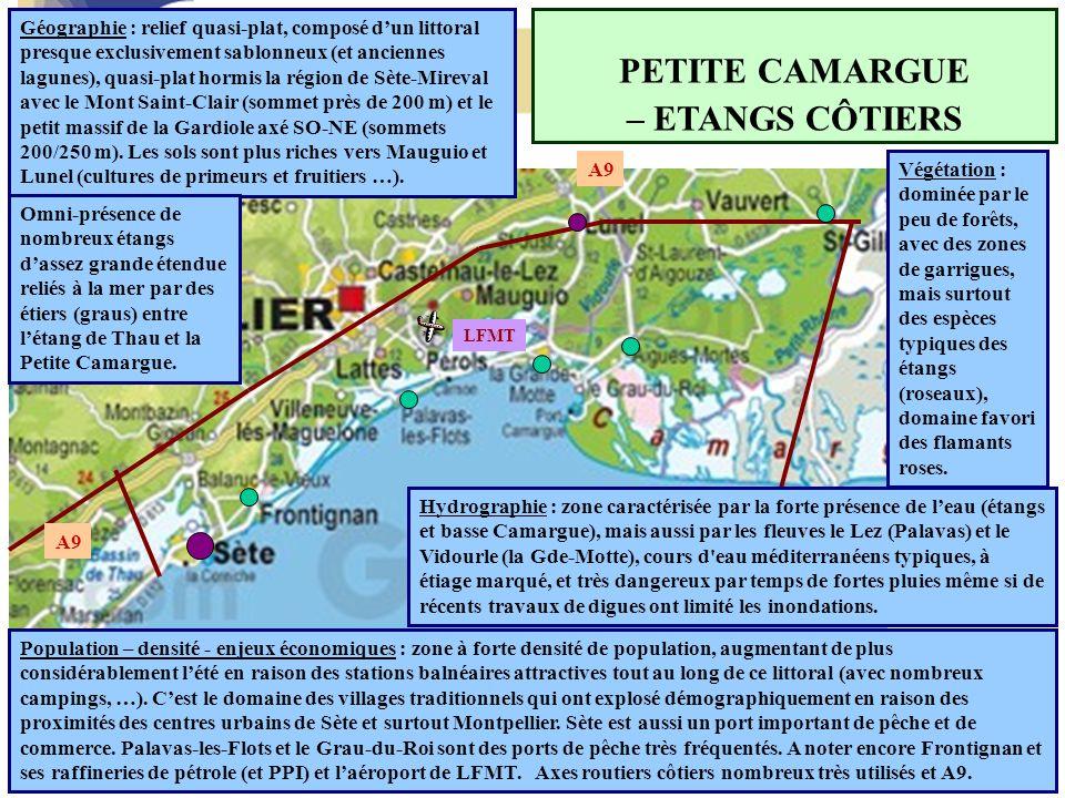 PETITE CAMARGUE – ETANGS CÔTIERS