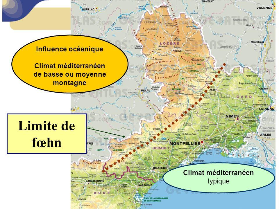 Climat méditerranéen de basse ou moyenne montagne