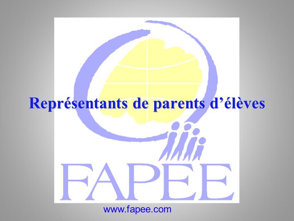 Représentants de parents d'élèves