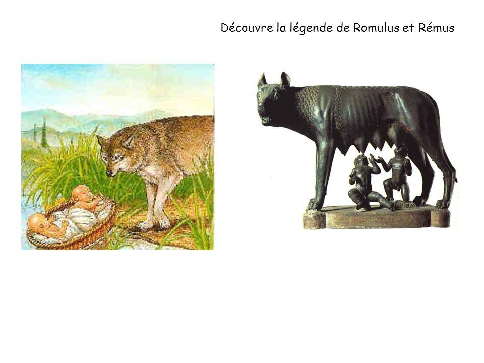 Découvre la légende de Romulus et Rémus