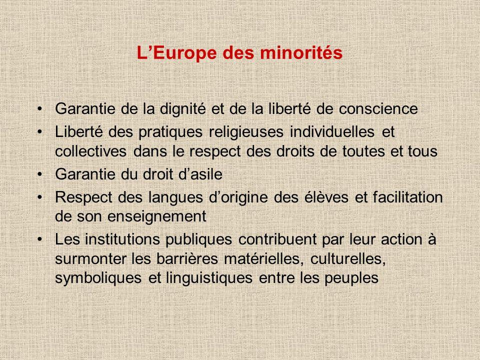 L'Europe des minorités