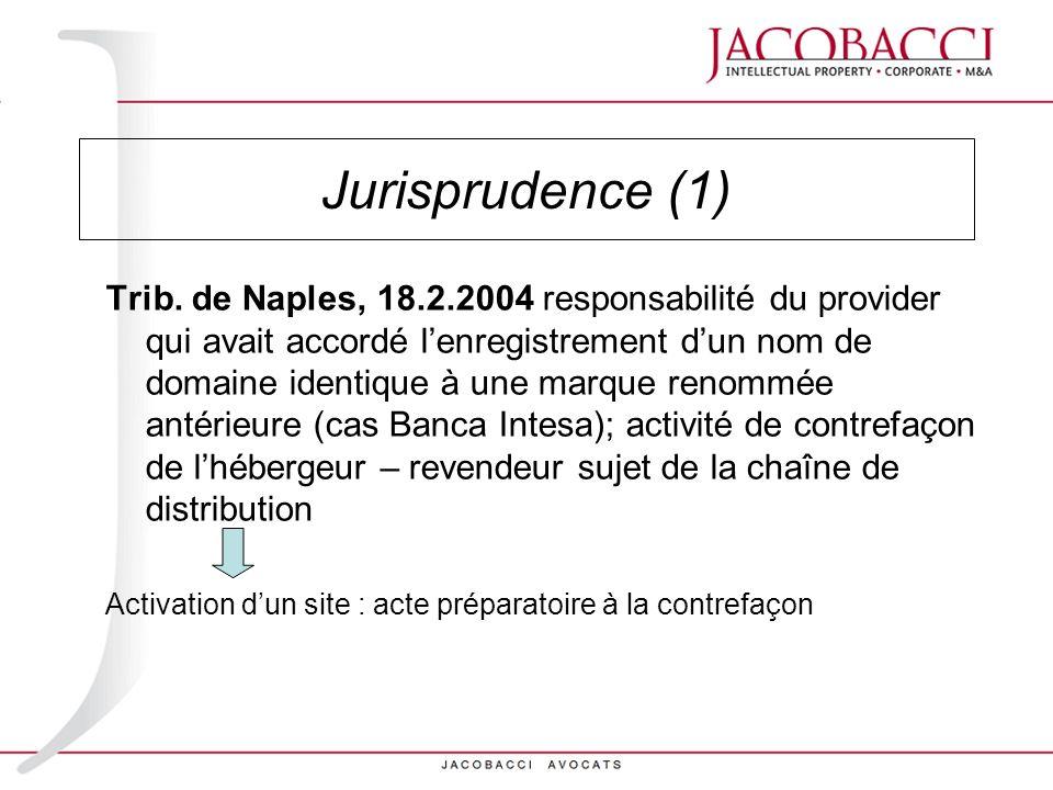 Jurisprudence (1)
