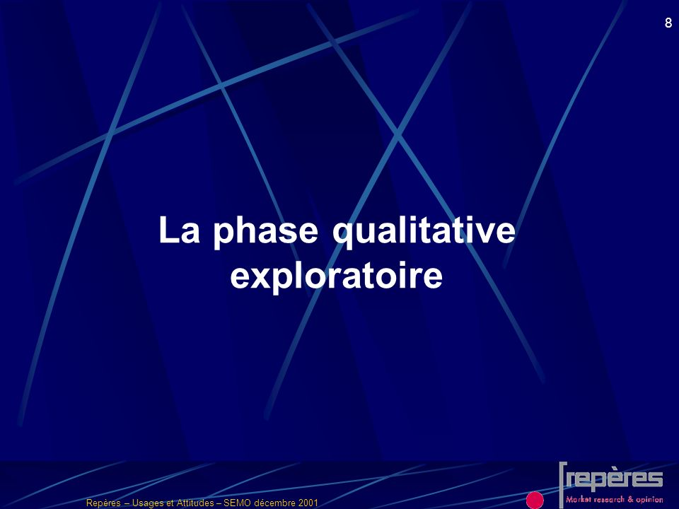 La phase qualitative exploratoire