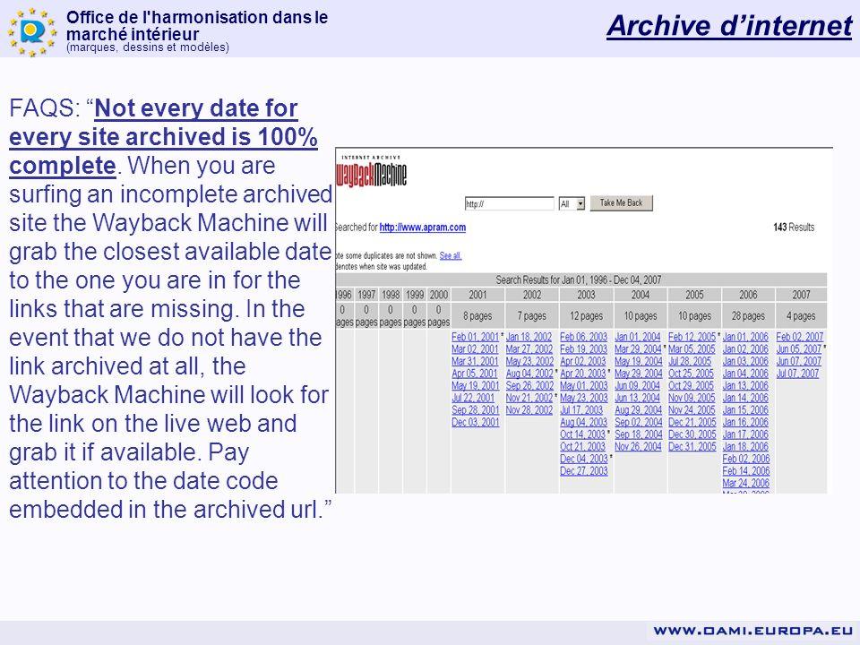 Archive d'internet