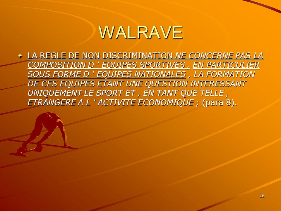 WALRAVE