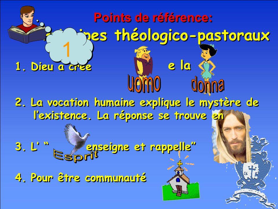 Points de référence: Principes théologico-pastoraux