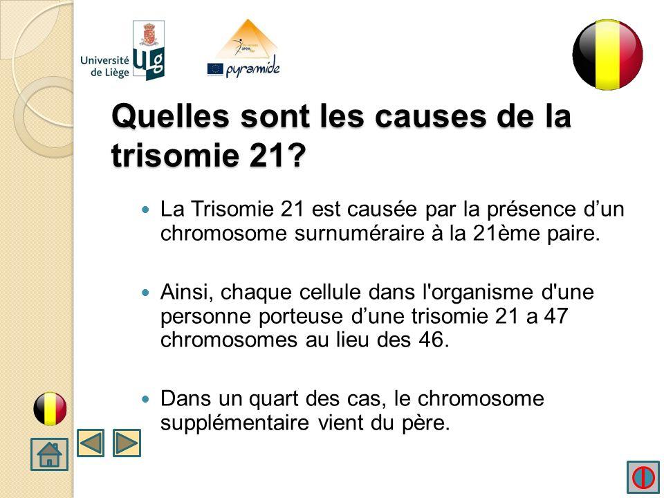 Quelles sont les causes de la trisomie 21