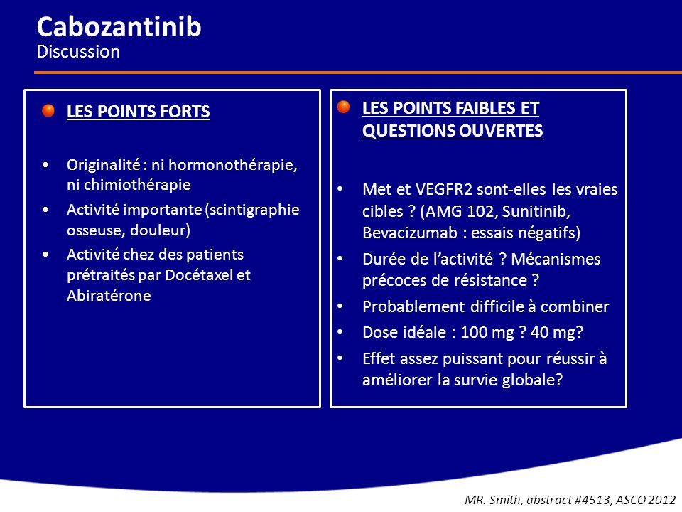 Cabozantinib Discussion