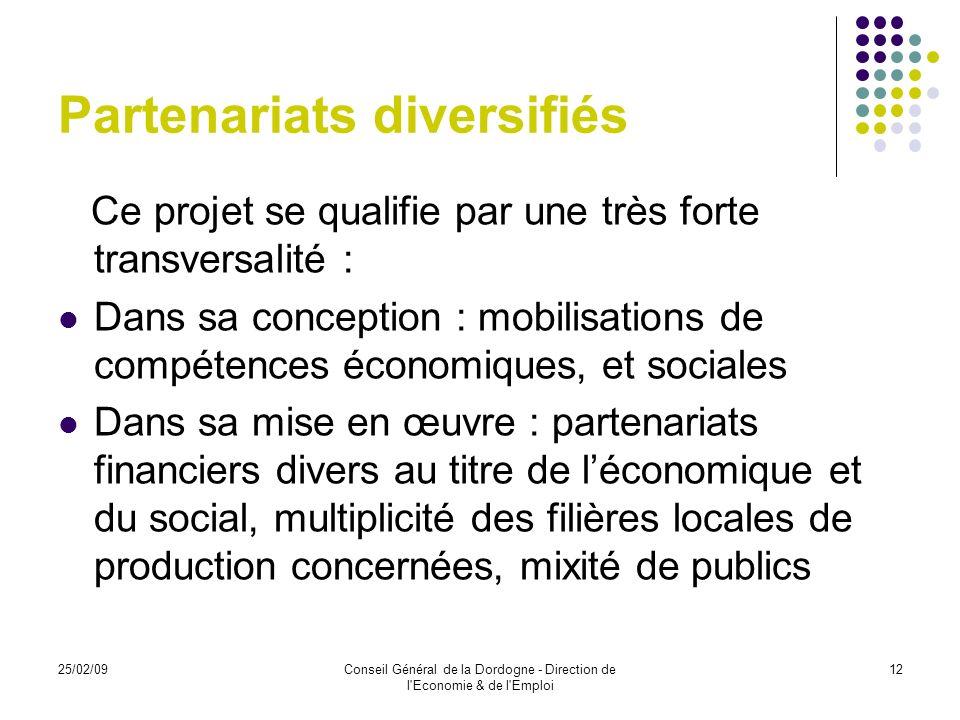 Partenariats diversifiés
