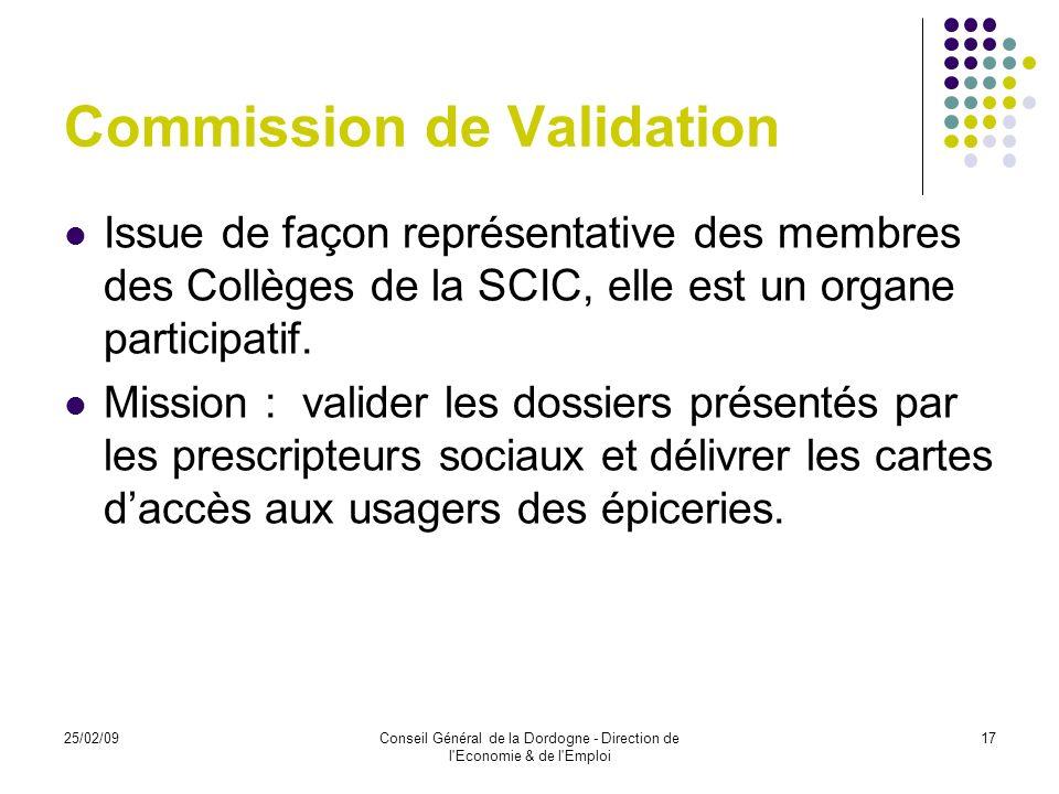 Commission de Validation