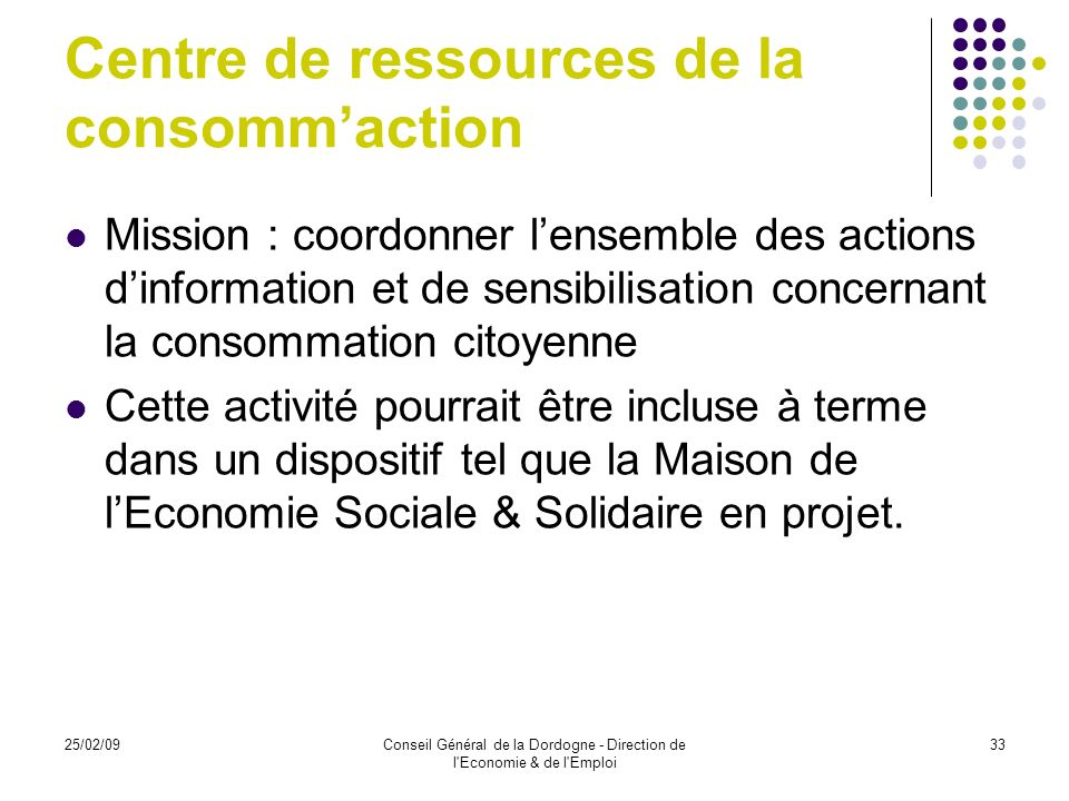 Centre de ressources de la consomm'action