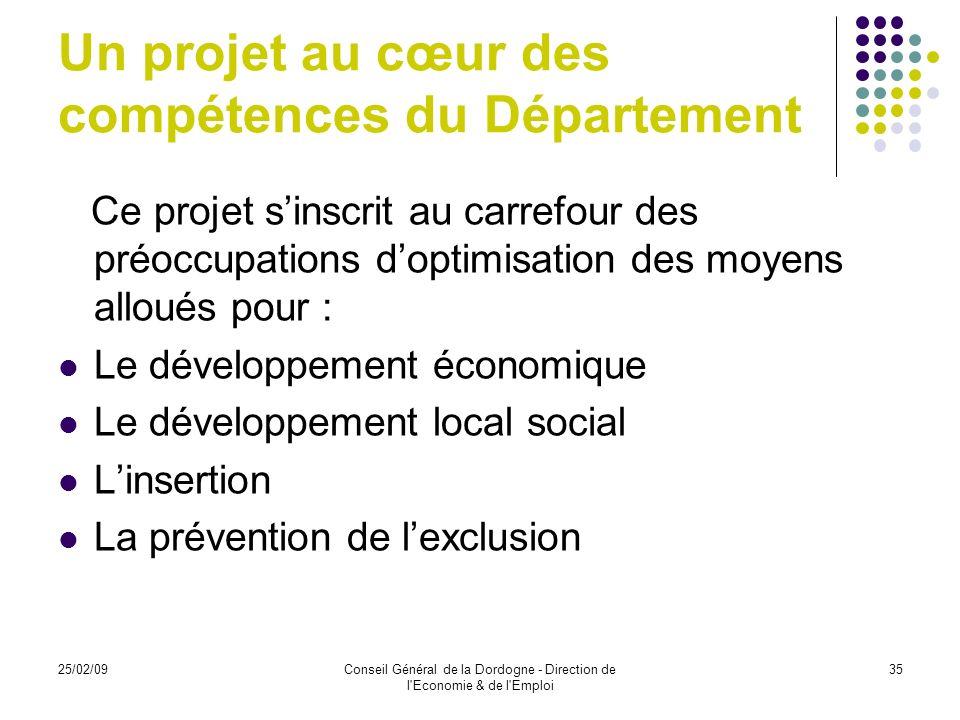 Un projet au cœur des compétences du Département