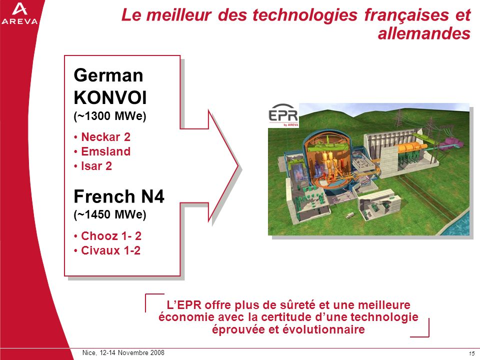 Le meilleur des technologies françaises et allemandes