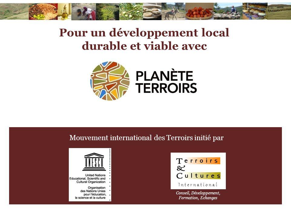 Pour un développement local