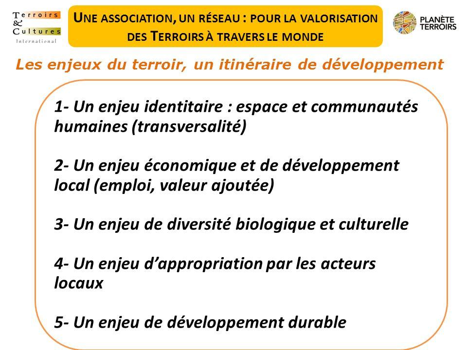 3- Un enjeu de diversité biologique et culturelle