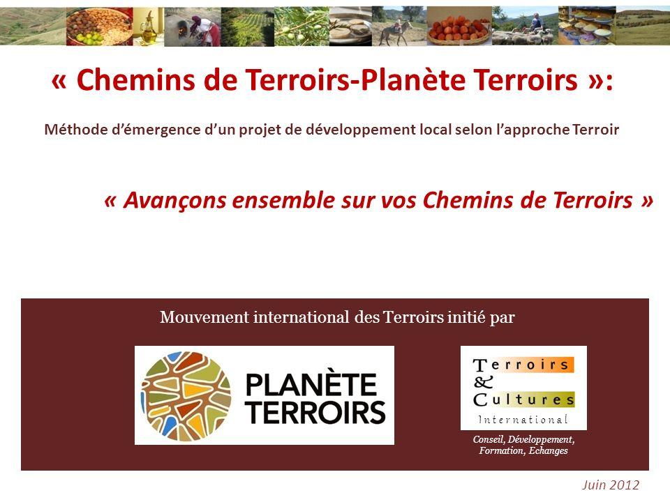« Chemins de Terroirs-Planète Terroirs »: