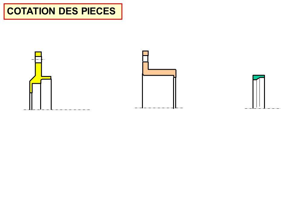 COTATION DES PIECES