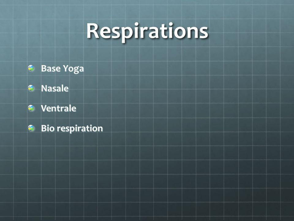 Respirations Base Yoga Nasale Ventrale Bio respiration