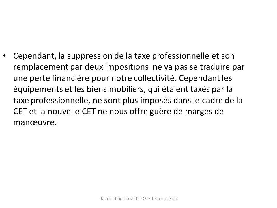 Jacqueline Bruant D.G.S Espace Sud