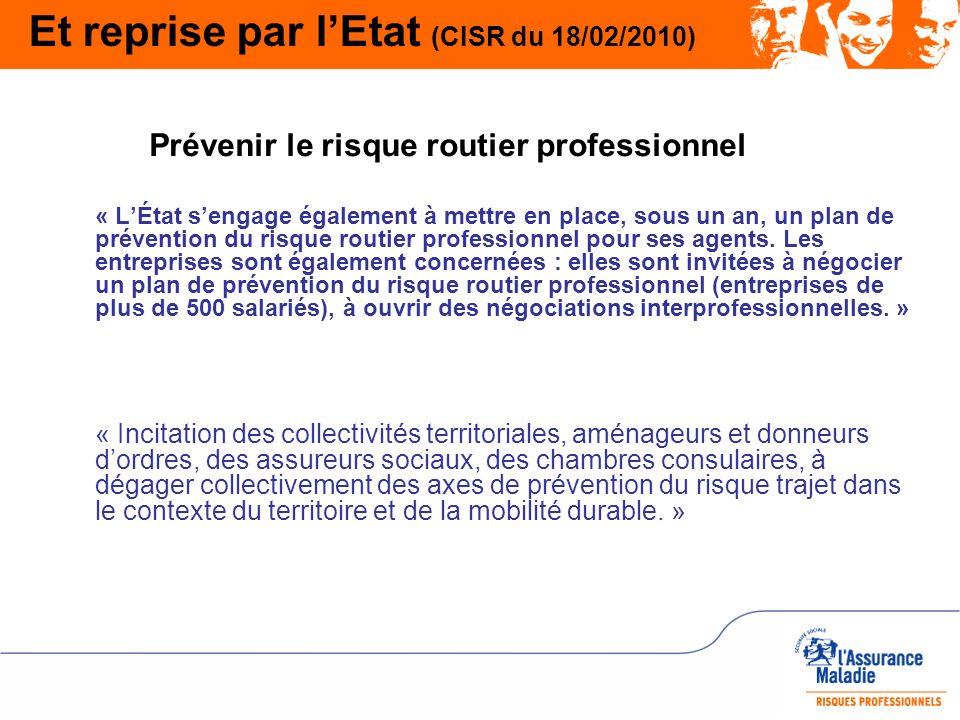 Et reprise par l'Etat (CISR du 18/02/2010)