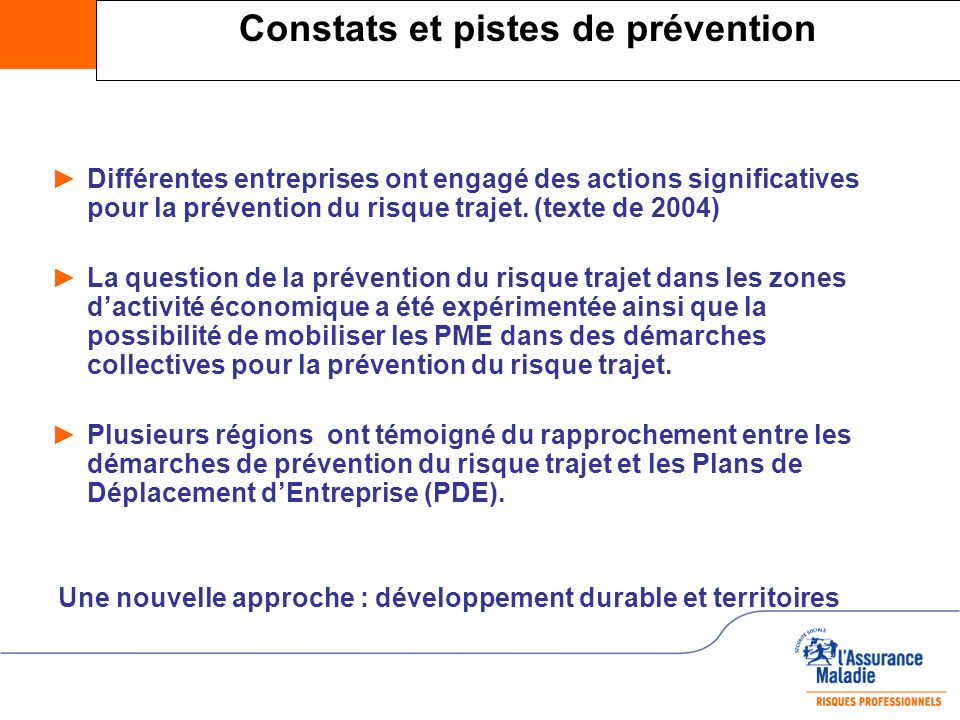 Constats et pistes de prévention