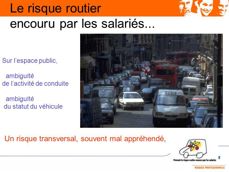 Le risque routier encouru par les salariés...