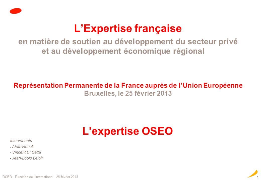 L'Expertise française