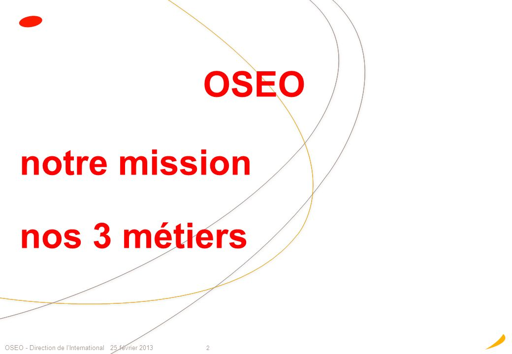 notre mission nos 3 métiers