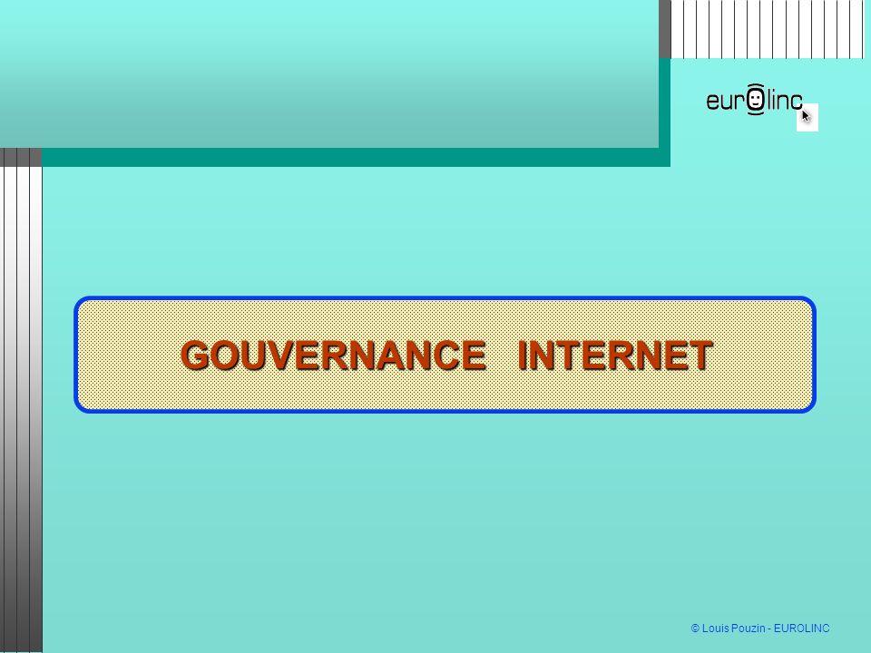 GOUVERNANCE INTERNET GOUVERNANCE INTERNET