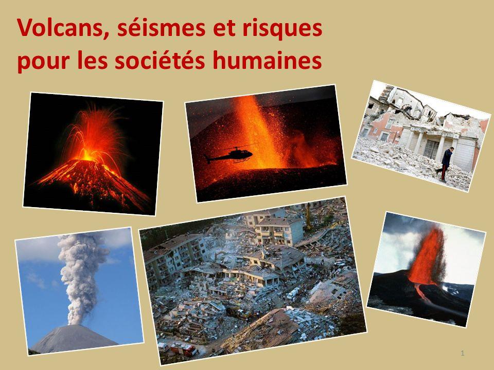 Volcans, séismes et risques