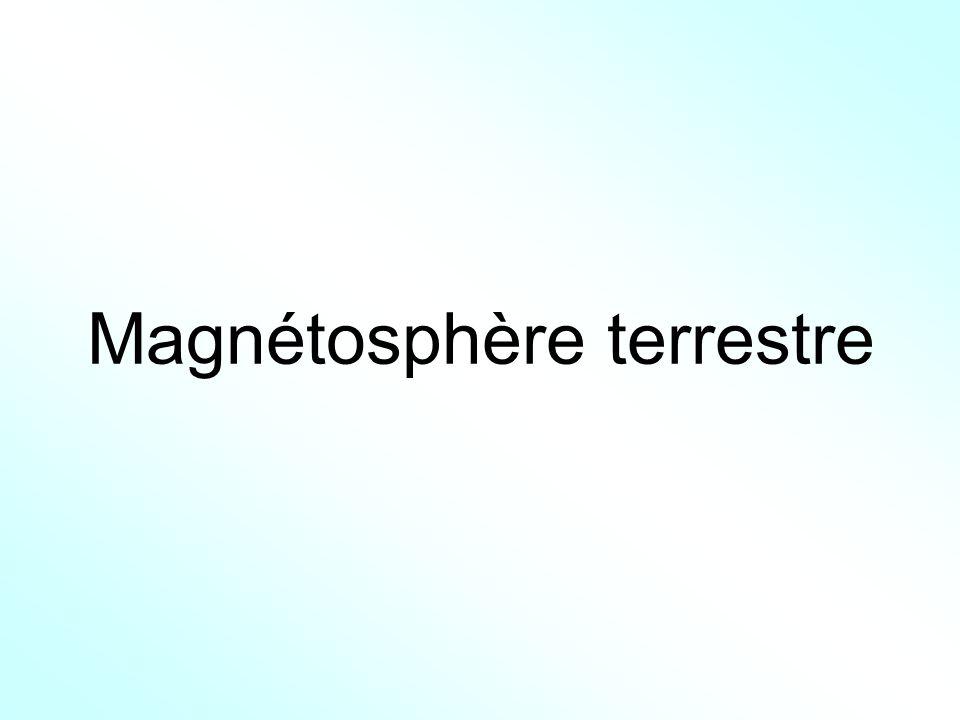 Magnétosphère terrestre