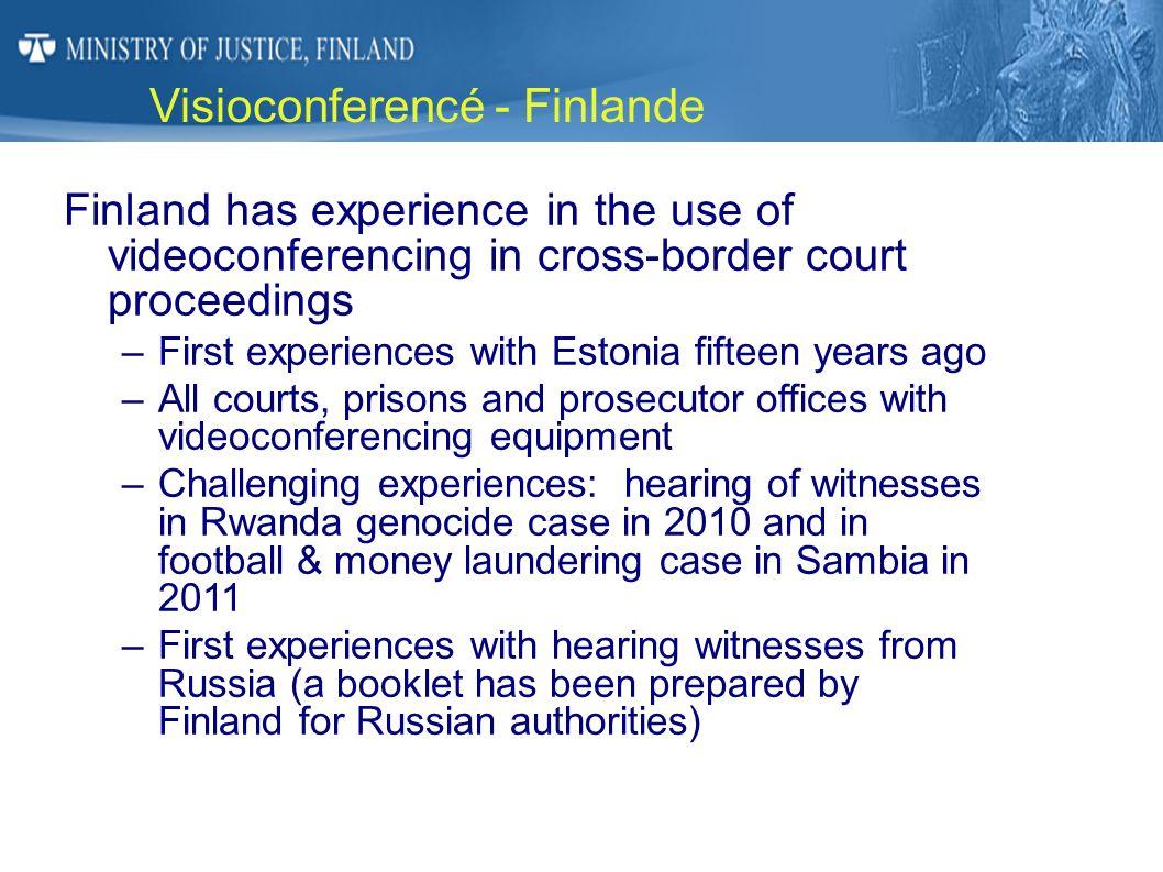 Visioconferencé - Finlande