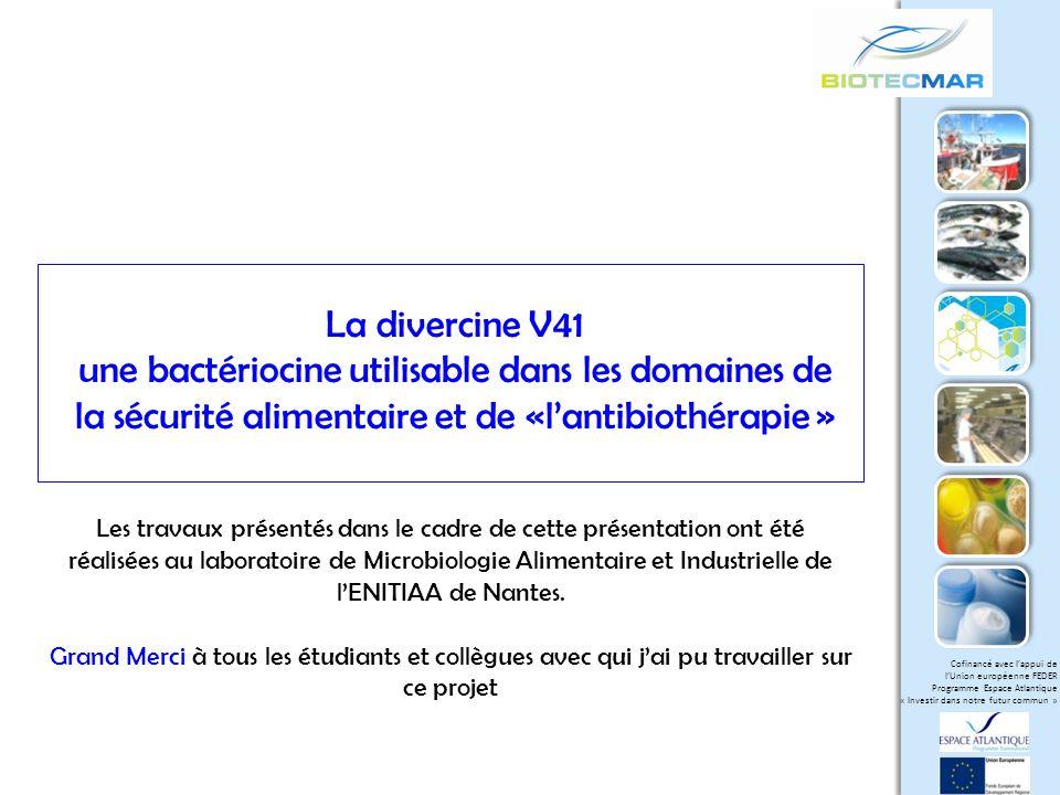 une bactériocine utilisable dans les domaines de